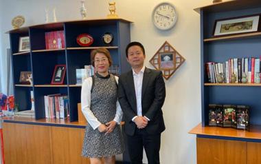 柳橙国际CEO Nelson出访奥克兰优秀大学 交流合作促发展