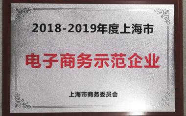 """柳橙国际荣膺""""2018-2019年度上海市电子商务示范企业"""""""