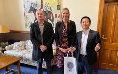 柳橙国际CEO出访新西兰,访问新西兰知名院校(二)